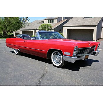 1967 Cadillac De Ville Convertible for sale 101140464