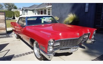 1967 Cadillac De Ville Convertible for sale 101331048