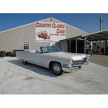 1967 Cadillac De Ville Convertible for sale 101382603