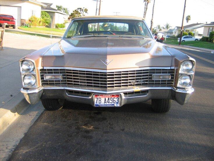 1967 Cadillac De Ville Convertible for sale near Temecula ...