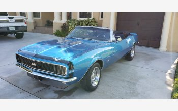 1967 Chevrolet Camaro SS Convertible for sale 101407868