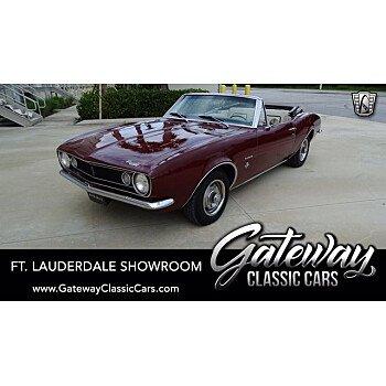 1967 Chevrolet Camaro Convertible for sale 101409691