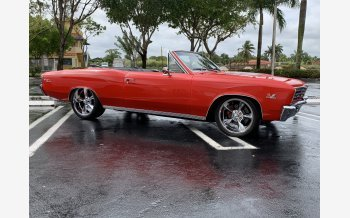 1967 Chevrolet Chevelle SS for sale 101123231