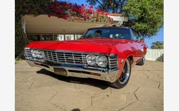 1967 Chevrolet Impala Convertible for sale 101490801
