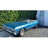 1967 Chevrolet Impala Convertible for sale 101510118