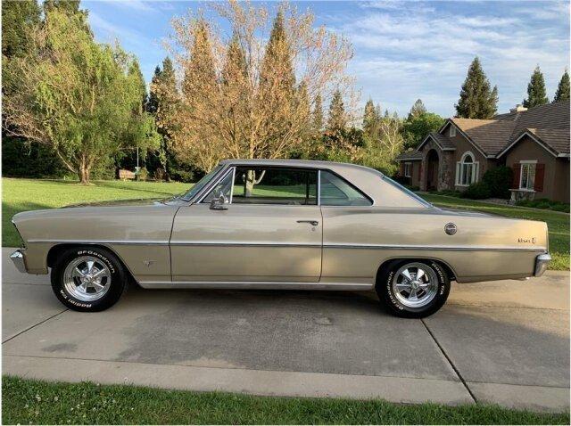 New 1962-1967 Chevy II Nova Black Molded Loop Carpet Set 2 Door or 4 Door