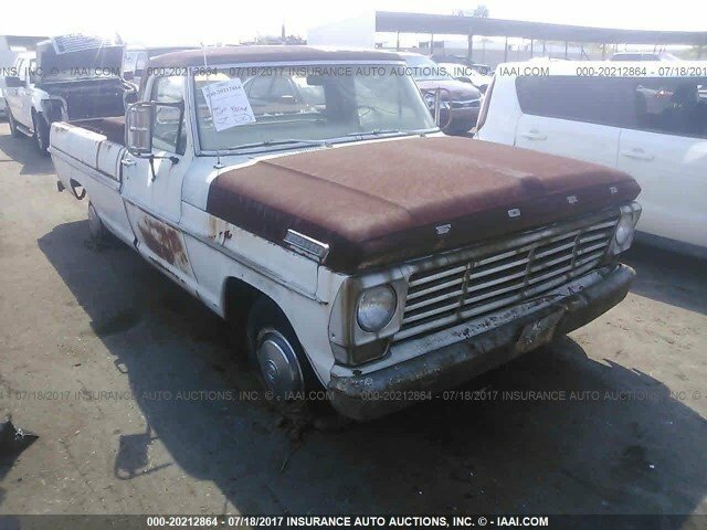 1967 Ford F100 Clics for Sale - Clics on Autotrader  F Wiring Harness on 1955 ford f-100,