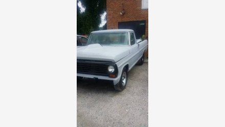1967 Ford F100 for sale 101032372