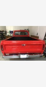 1967 Ford F100 2WD Regular Cab for sale 101192758