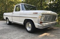 1967 Ford F100 2WD Regular Cab for sale 101207763