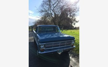 1967 Ford F100 2WD Regular Cab for sale 101288848