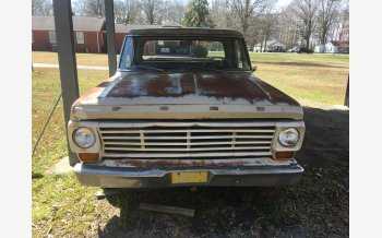 1967 Ford F100 2WD Regular Cab for sale 101336841