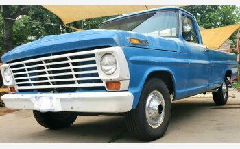 1967 Ford F100 2WD Regular Cab for sale 101351609