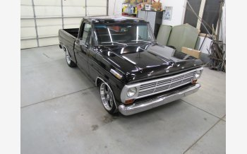 1967 Ford F100 2WD Regular Cab for sale 101377204