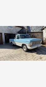 1967 Ford F100 2WD Regular Cab for sale 101465218