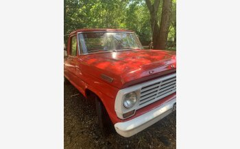 1967 Ford F100 2WD Regular Cab for sale 101555734
