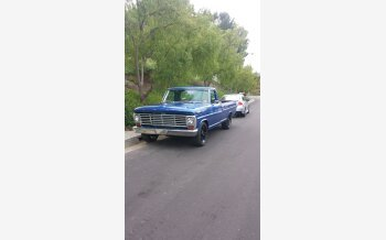 1967 Ford F250 2WD Regular Cab for sale 101194841