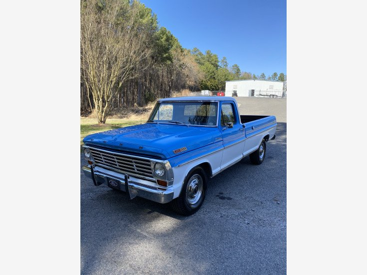 1967 Ford F250 2WD Regular Cab for sale 101550705