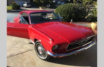 1967 Ford Mustang Coupe for sale 101069246