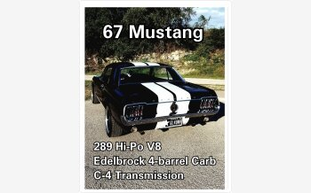 1967 Ford Mustang Coupe for sale 101184921