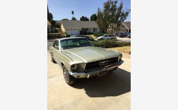 1967 Ford Mustang Coupe for sale 101460156