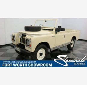 1967 Land Rover Series II for sale 101204715