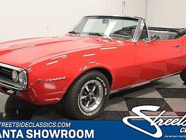 1967 Pontiac Firebird Convertible for sale 101515992