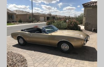 1967 Pontiac Firebird Convertible for sale 101473345