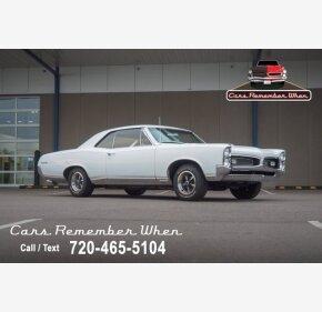 1967 Pontiac GTO for sale 101366562