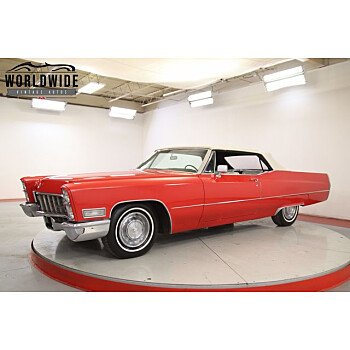1968 Cadillac De Ville for sale 101372200