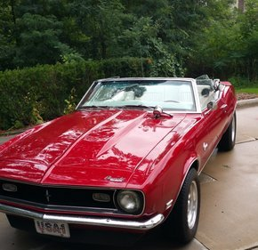1968 Chevrolet Camaro RS Convertible for sale 101095743