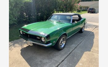 1968 Chevrolet Camaro Convertible for sale 101210718