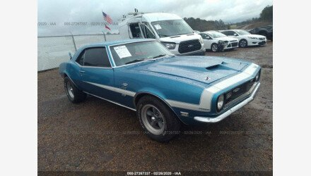 1968 Chevrolet Camaro for sale 101291845