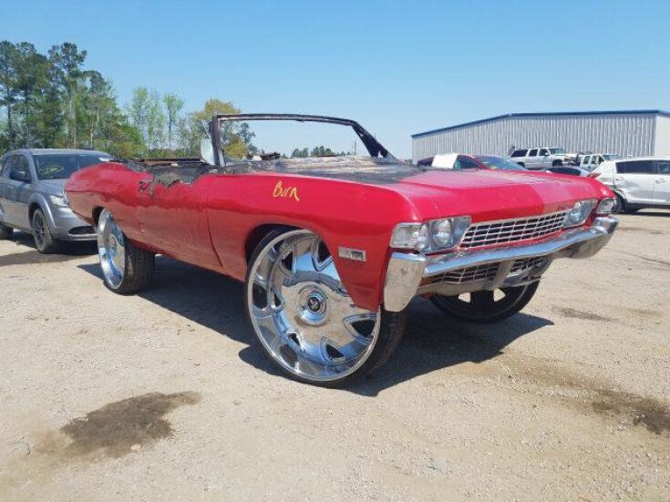 1968 Chevrolet Impala for sale 101544987