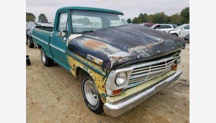 1968 Ford F100 for sale 101244221