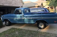 1968 Ford F100 2WD Regular Cab for sale 101246257