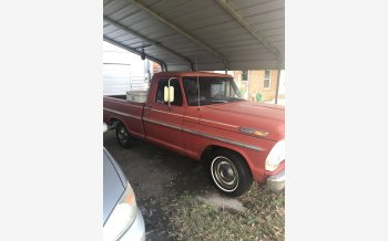 1968 Ford F100 2WD Regular Cab for sale 101285764