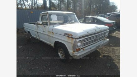 1968 Ford F100 for sale 101293411