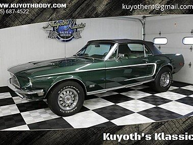 1968 Ford Mustang GT for sale 101155158