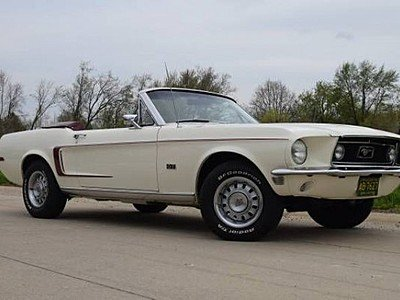 1968 Ford Mustang GT Convertible for sale 101194589