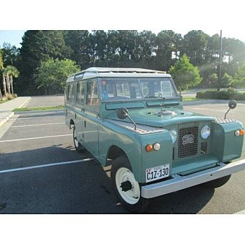 1968 Land Rover Series II for sale 100981803