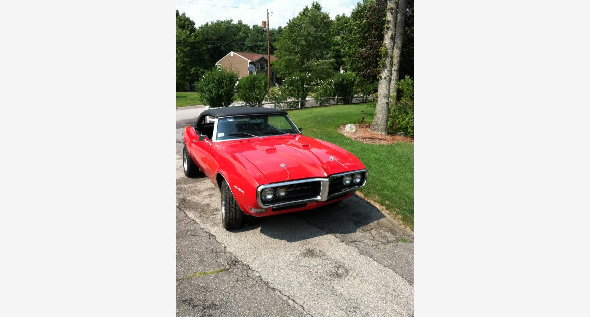 1968 Pontiac Firebird Convertible for sale 101003420