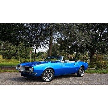 1968 Pontiac Firebird Convertible for sale 101624859