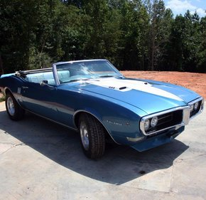 1968 Pontiac Firebird Convertible for sale 101211499