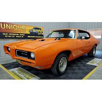 1968 Pontiac GTO for sale 101215212