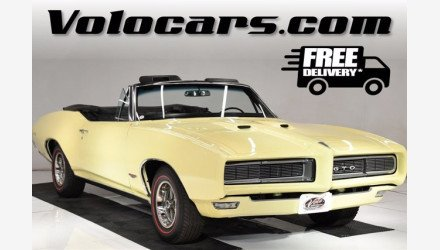 1968 Pontiac GTO for sale 101492817