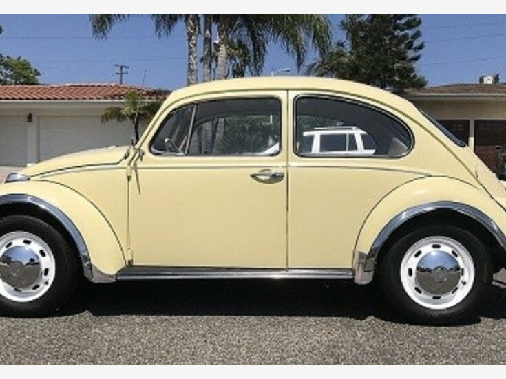 1968 Volkswagen Beetle For Sale Near Woodland Hills