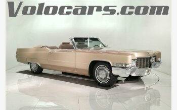 1969 Cadillac De Ville for sale 101219886