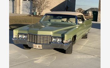 1969 Cadillac De Ville Coupe for sale 101265719
