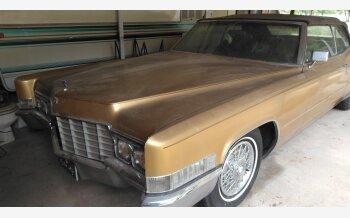 1969 Cadillac De Ville Convertible for sale 101365048